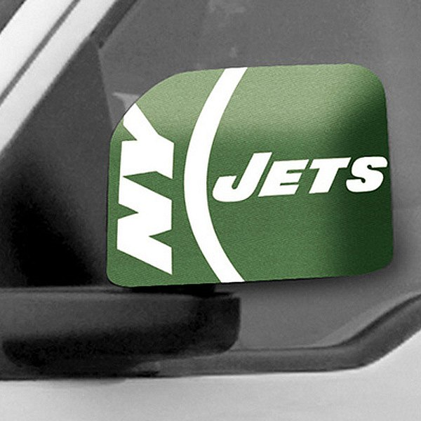FanMats® - Universal Mirror Covers (Sports, NFL, New York Jets)