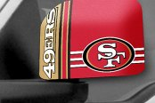 FanMats® - Universal Mirror Covers (Sports, NFL, San Francisco 49ers)
