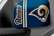 FanMats® - Universal Mirror Covers (Sports, NFL, St. Louis Rams)