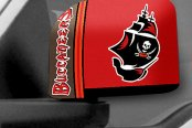 FanMats® - Universal Mirror Covers (Sports, NFL, Tampa Bay Buccaneers)