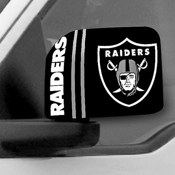 FanMats® - Universal Mirror Covers (Sports, NFL, Oakland Raiders)
