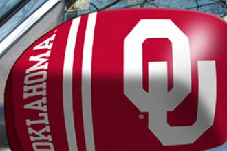 FanMats® 12014 - University of Oklahoma Logo on Mirror Covers