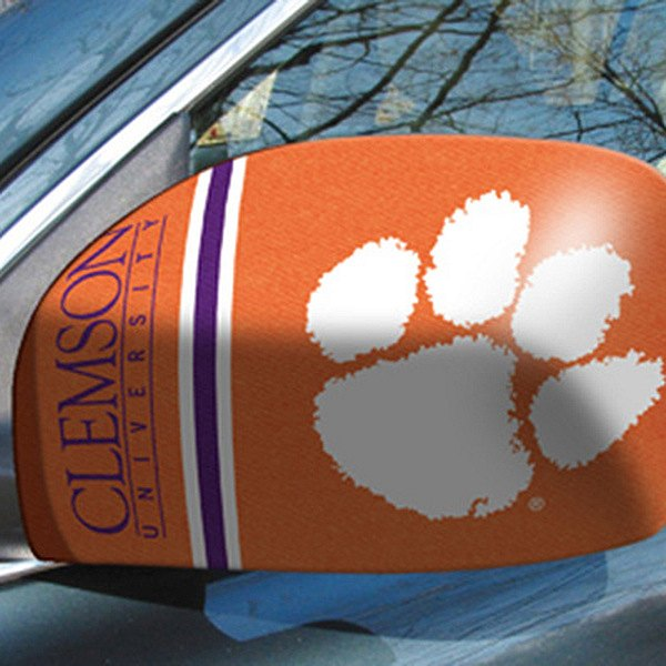 FanMats® - Universal Mirror Covers (College, South Carolina, Clemson University)