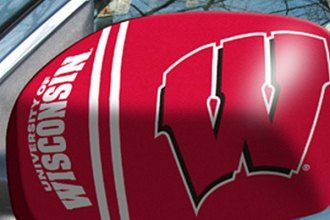 FanMats® University of Wisconsin on Small Mirror Cover