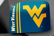 FanMats® - Universal Mirror Covers (College, West Virginia, West Virginia University)
