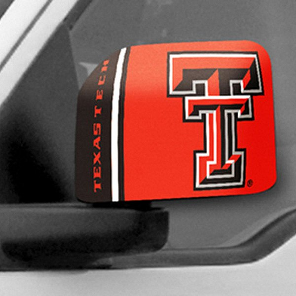 FanMats® - Universal Mirror Covers (College, Texas, Texas Tech University)