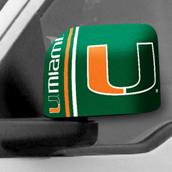 FanMats® - Universal Mirror Covers (College, Florida, University of Miami)