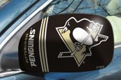 FanMats® - Universal Mirror Covers (Sports, NHL, Pittsburgh Penguins)