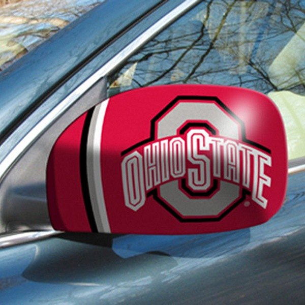 FanMats® - Universal Mirror Covers (College, Ohio, Ohio State University)