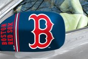 FanMats® - Universal Mirror Covers (Sports, MLB, Boston Red Sox)