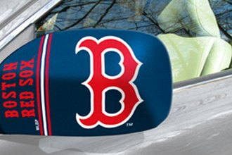 FanMats® Boston Red Sox on Small Mirror Cover