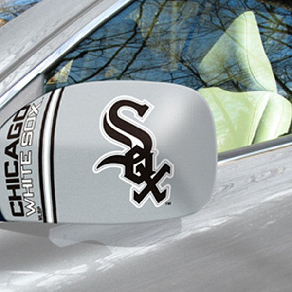 FanMats® - Universal Mirror Covers (Sports, MLB, Chicago White Sox)
