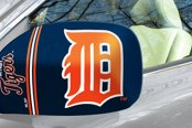 FanMats® - Universal Mirror Covers (Sports, MLB, Detroit Tigers)