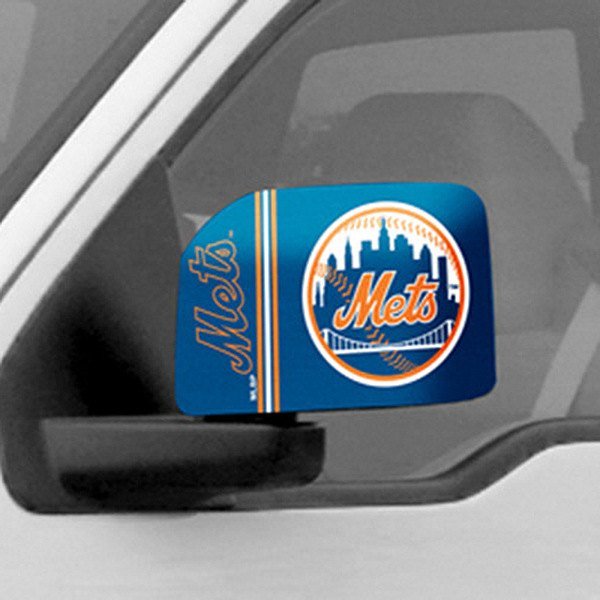 FanMats® - Universal Mirror Covers (Sports, MLB, New York Mets)