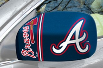 FanMats® Atlanta Braves on Small Mirror Cover