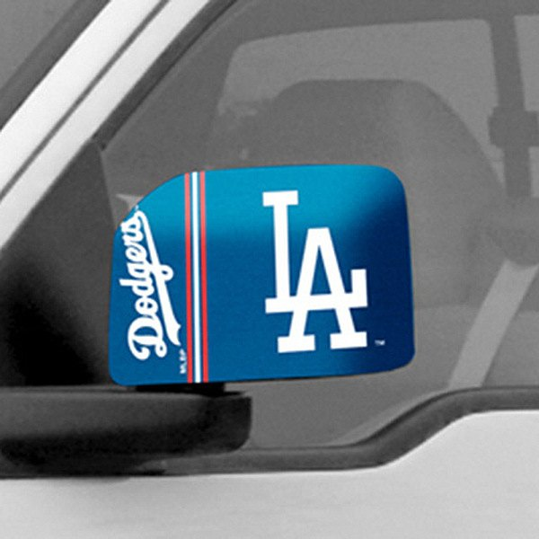 FanMats® - Universal Mirror Covers (Sports, MLB, Los Angeles Dodgers)