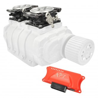Fast® - XFI™ Sportsman™ Roots Blower Dual Quad EFI System
