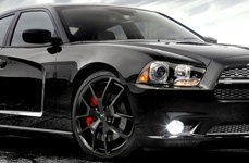 FATHOM® - FD-RA Satin Black on Dodge Charger