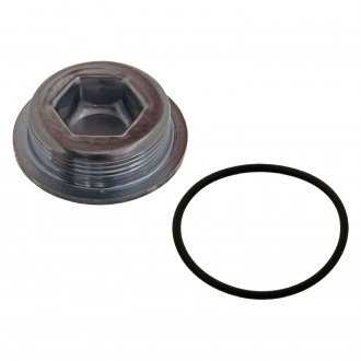 Febi® - Crankcase Threaded Plug with Seal Ring