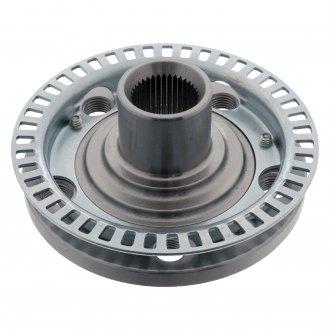 Febi® - Front Driver or Passenger Side Wheel Hub with ABS Impulse Ring