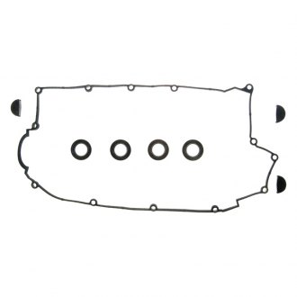 Fel-Pro® - Valve Cover Gasket with Semi-circular plugs and Spark plug tube seals