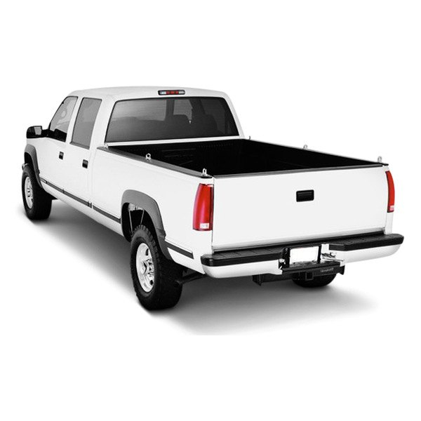 Image may not reflect your exact vehicle! FEY® - Perfect Match Series Full Width Rear OE Style Chrome Bumper