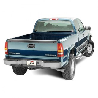 Image may not reflect your exact vehicle! FEY® - Perfect Match Series Gray Rear Bumper - Installed