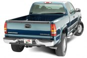 FEY® - Perfect Match Series Full Width Rear OE Style Chrome Bumper