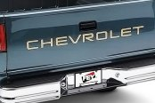 FEY® - Universal Series Surestep Chrome Rear Bumper - Installed