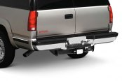 Image may not reflect your exact vehicle! FEY® - Perfect Match Series Chrome Rear Bumper - Installed