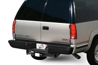 FEY® - 32014 - Perfect Match Series Black Rear Bumper