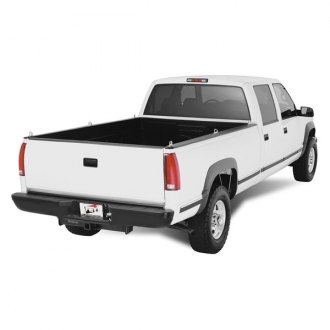 Image may not reflect your exact vehicle! FEY® - Perfect Match Series Black Rear Bumper - Installed