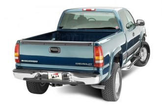 FEY® - Perfect Match Series Chrome Rear Bumper - Installed