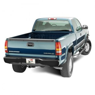 FEY® - Perfect Match Series Black Rear Bumper - Installed