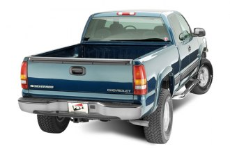 FEY® - Perfect Match Series Gray Rear Bumper - Installed