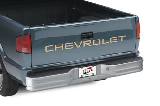 Image may not reflect your exact vehicle! FEY® - Universal Series Surestep Silver Rear Bumper - Installed