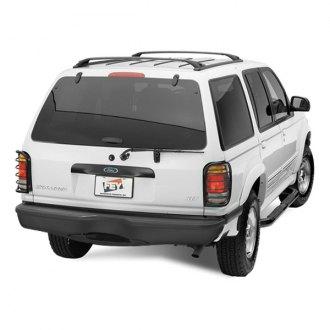 1998 Ford Explorer Custom 4x4 Off-Road Steel Bumpers – CARiD com