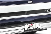 FEY® - Universal Series Surestep Deluxe Full Width Rear OE Style Chrome Bumper