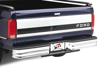 FEY® - Universal Series Surestep Deluxe Chrome Rear Bumper - Installed