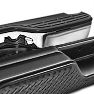FEY - Universal Series Diamondstep Black Rear Bumper