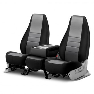 Fia® - NP90 Series Black & Gray Seat Covers