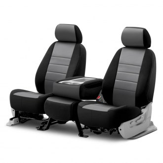 Fia® - Neo™ Black & Gray Seat Covers