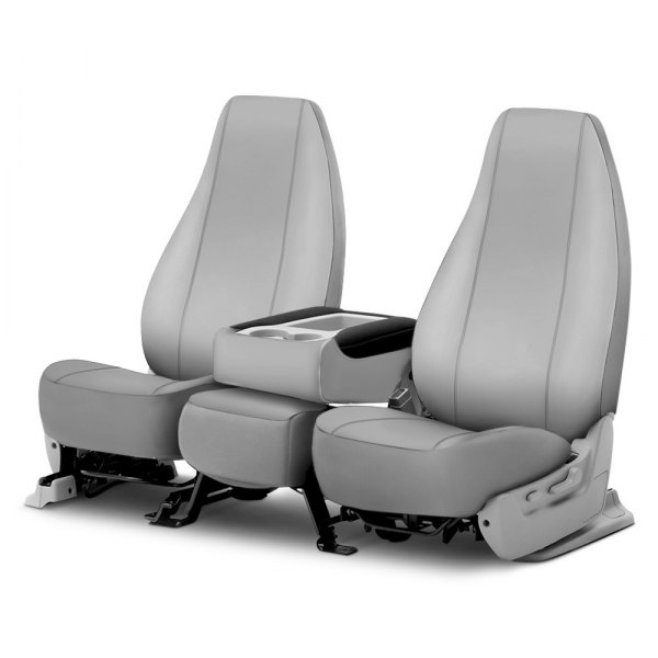 Gray FIA SP88-5 GRAY Universal Fit Truck Bucket Seat Cover
