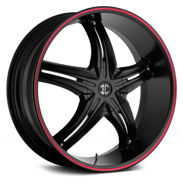 FIERO® - NUMBER 5 Satin Black with Red Stripe