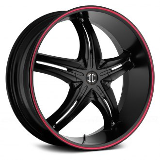 FIERO® - No.5 Satin Black with Red Stripe