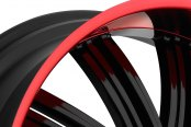 FIERO® - No.7 Gloss Black with Red Lip Close-Up