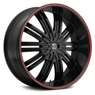 FIERO® - No.7 Gloss Black with Red Stripe
