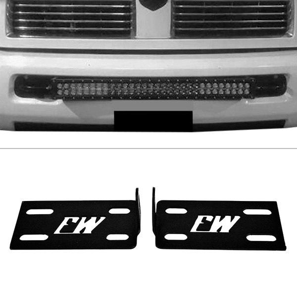 Quality Light Bars >> Firewire Fw 30 Bkts Bumper Mounts For 30 Led Light Bars