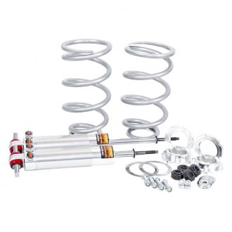 Flaming River® - Front Dual Adjustable Coilover Shock Kit