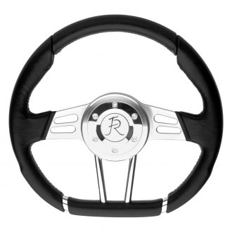 Flaming River® - 3-Spoke D-Style Steering Wheel